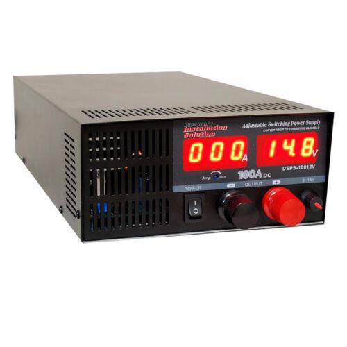 DC Switching Power Supply 100 Amp Adjustable output voltage range(DSPS-10012V )