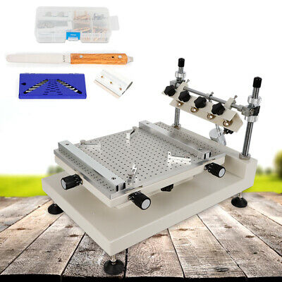 High Accuracy Manual Solder Paste Printer Kit Pcb Smd Stencil Printing Machine