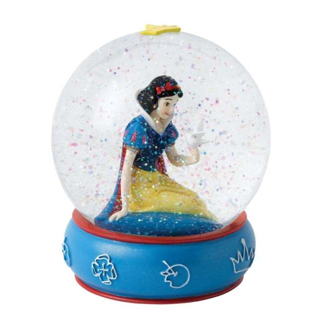 Disney Enchanting Collection Kind and Innocent Snow White Waterball New A26969