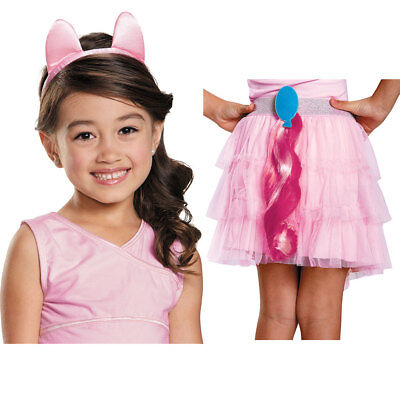 Girls My Little Pony Pinkie Pie Halloween Kit - My Little Pony Pinkie Pie Costume