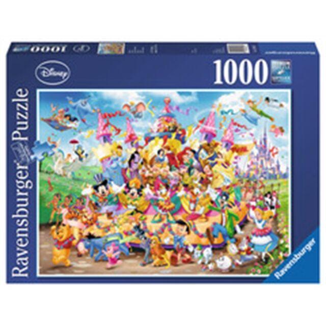 1000 Piece Disney Carnival Puzzle - Ravensburger Multicha 1000pc Fun Adults