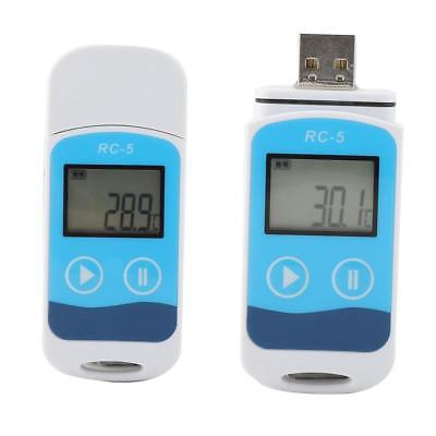 Rc-5 Usb Temperature Data Logger Datalogger Temp Recorder Internal Sensor Mini
