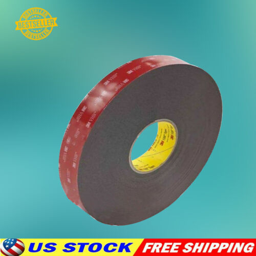 """3m 1/2"""" X 9/15/21/108 Vhb Double Sided Foam Adhesive Tape 5952 For Gopro Camera"""