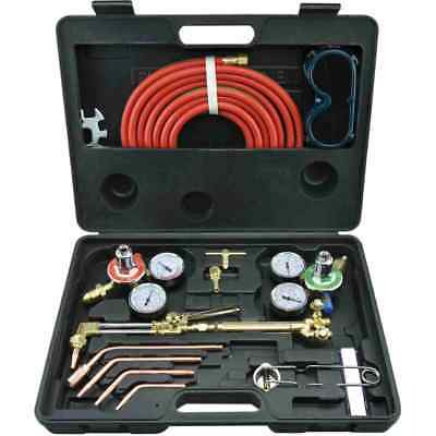Gas Welding Cutting Kit Victor Type Acetylene Oxygen Torch Set Regulator