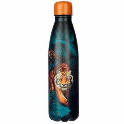 Puntos Y Rayas Grande Gato Caliente/Frío Aislamiento Térmico Bebidas Botella
