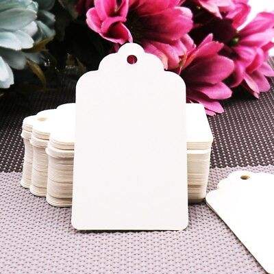 Christmas Table Decoration (100pcs Paper Tags Christmas Wedding Party Gift Cards Labels Table)