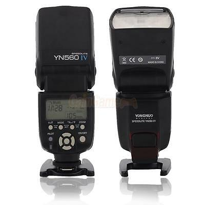 YONGNUO YN-560 IV Wrieless High Sync Speedlite Flash for Canon Nikon Camera