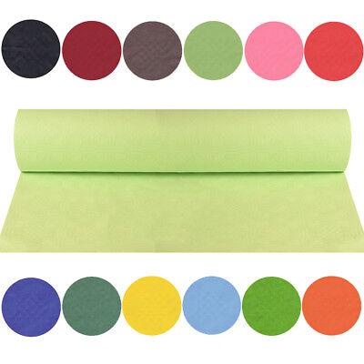 Papier Tischdecke Tischtuch 8 m x 1,2 m große Farbauswahl Party Hochzeit Fest