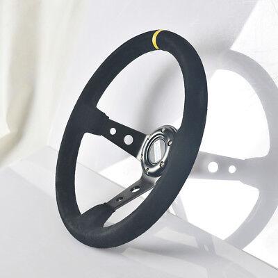 Motorsport  Lenkrad Schwarz  350 mm geschüsselt  , Sportlenkrad, Rallye, Racing online kaufen