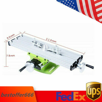 Milling Machine Work Table Cross Slide X Y Axis Bench Vise Drill Machine Sale