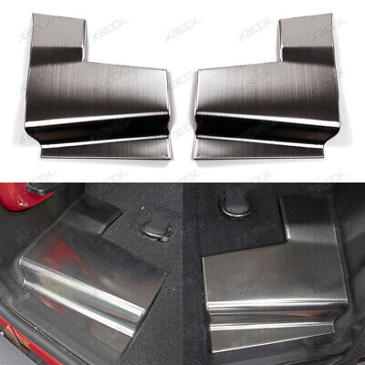 Trunk Guard Cover Trim Rear Tail-gate Decoration Accessories for 18+ Wrangler JL ()