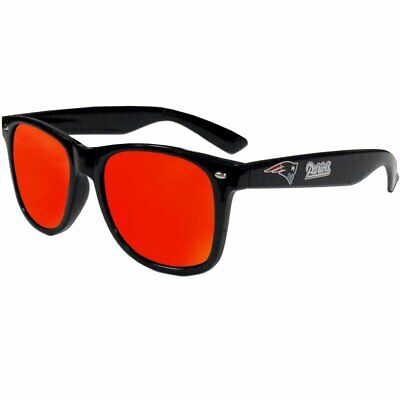 New England Patriots Retro Wear Mirror Lens Sunglasses ()