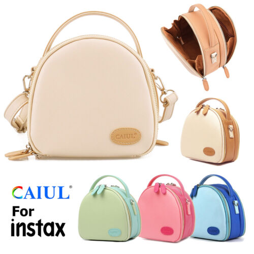 Universal PU Leather Camera Case Bag for Fujifilm Instax Min