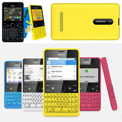 Dual Sim Qwerty Keyboard - Nokia Asha 210 GSM Unlocked QWERTY Keyboard Bluetooth Wifi Dual SIM Cell Phone