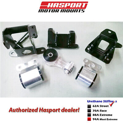 Hasport Mounts Stock Replacement Mount Kit 2006-2011 for Civic Non-Si -