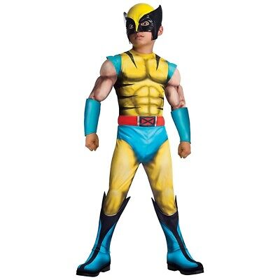 Wolverine Muscle Child Halloween Costume by Rubie's](Wolverine Child Costume)