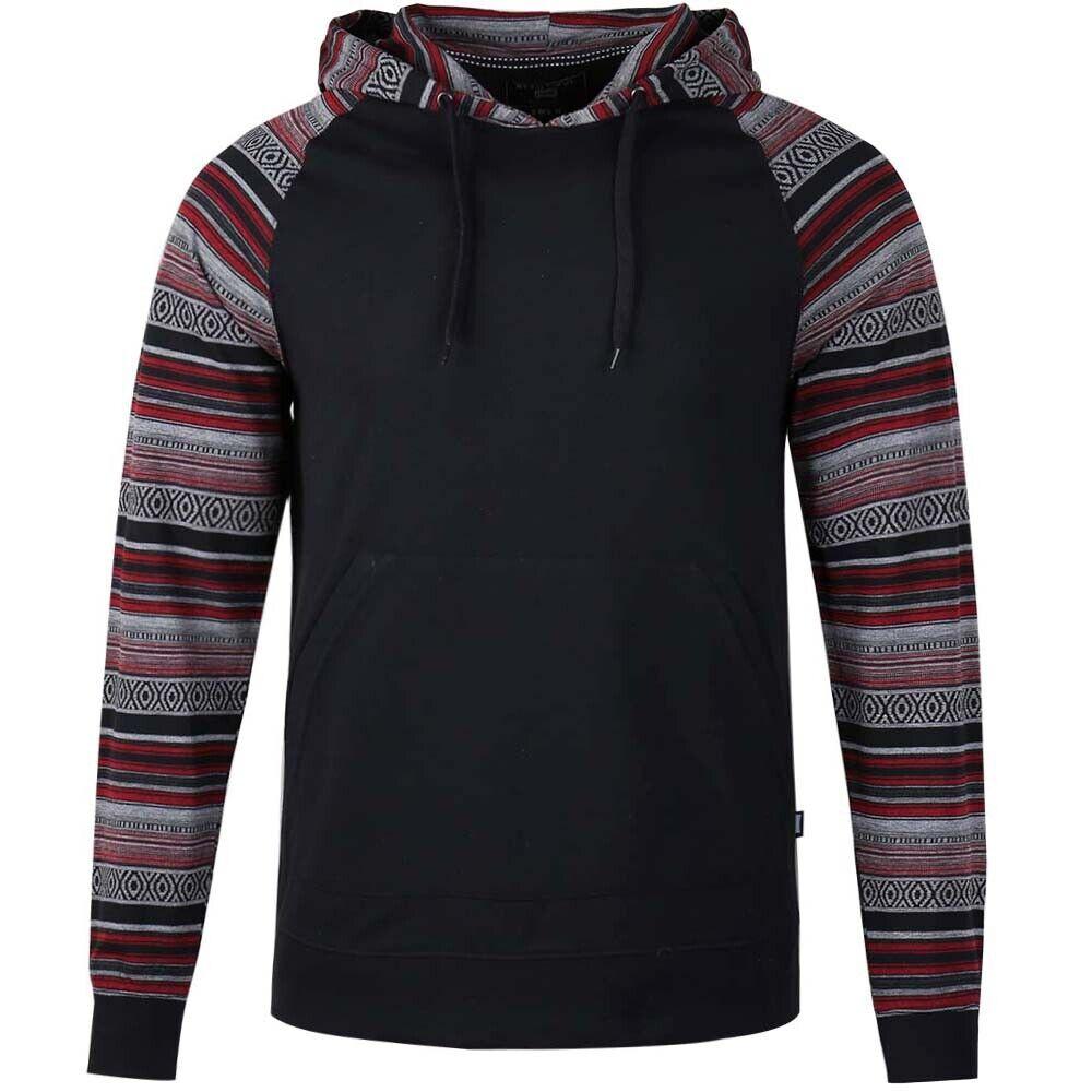 Men's Pullover Hoodie Fleece Lightweight Sport Sweatshirt No