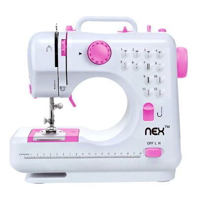 Electric Sewing Machine with 12 Built-In stitches for - Beginner Sewing