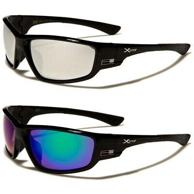 X-Loop Gray Vent Detail Wrap Around Men's (Vented Sunglasses)