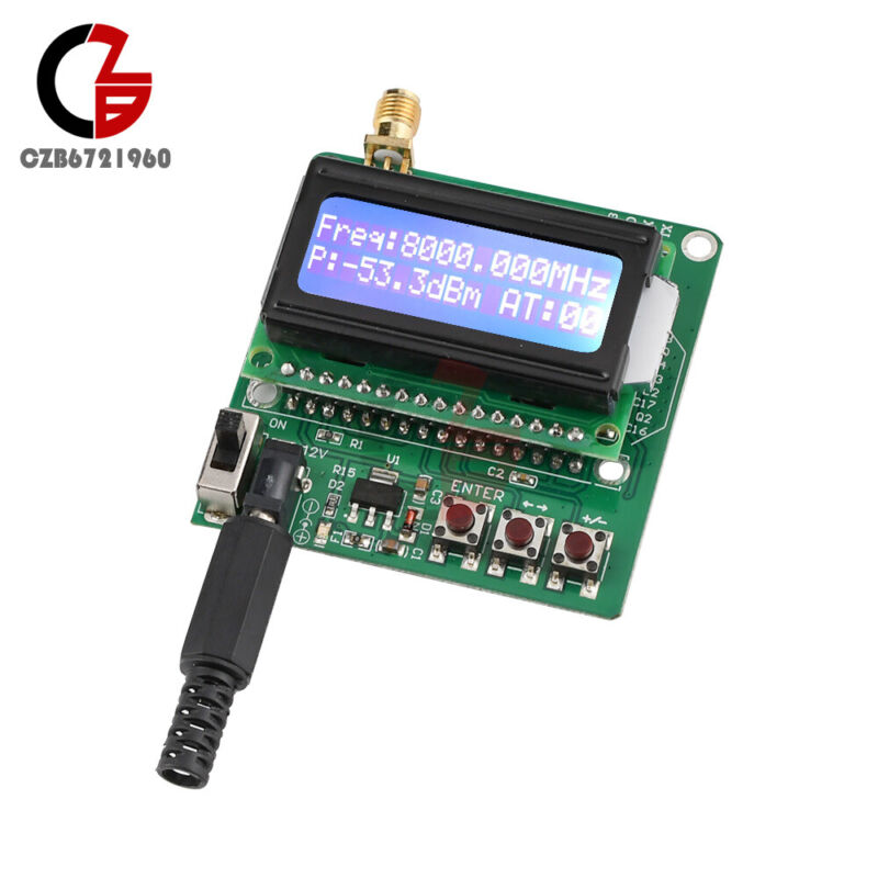 Digital LCD RF Power Meter - -60 to -5dBm Radio Frequency Attenuation module