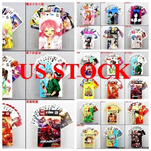 Japanese Anime Poker Playing Card Devil May Cry Metal Gear One Piece Sonic