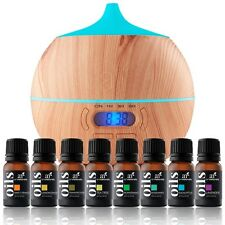 Essential Oil Bluetooth Diffuser Air Aroma Mist Theapy Ultrasonic  w/ Oils Set