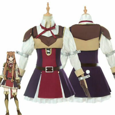 Comic Con Cosplay Costumes (The Rising of The Shield Hero Raphtalia Cosplay Costumes Comic Con Fancy Dress)