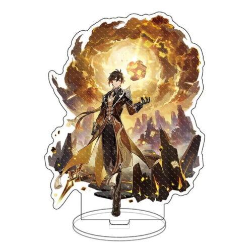 Genshin Impact Zhongli Zhong li Acrylic Stand Figure Standee Collection Liyue
