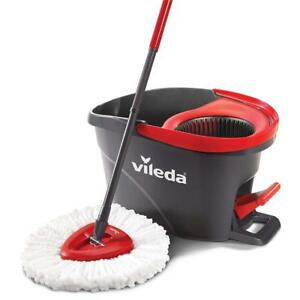 NEW Vileda EasyWring Microfibre Spin Mop  Bucket Floor Cleaning System Condition: New