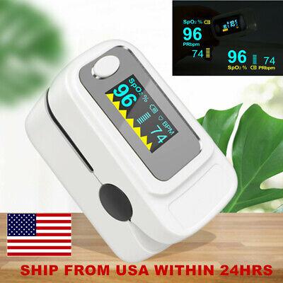 Oled Oximeter Pluse Oximeter Spo2 Blood Oxygen Saturation Spo2 Pr Monitor Home