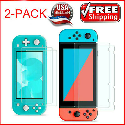 2x Premium HD Tempered Glass Screen Protector Guard for Nintendo Switch / Lite L