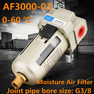 Af3000-03 G38 Compressed Air Compressor In Line Moisture Water Filter Trap