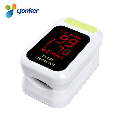 Yonker Fingertip Pulse Oximeter Spo2 Pr Blood Oxygen Meter Monitor 85 Led Ce
