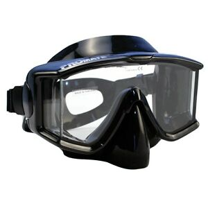 NEW-Panoramic-Silicone-Purge-Mask-Scuba-Dive-Snorkeling