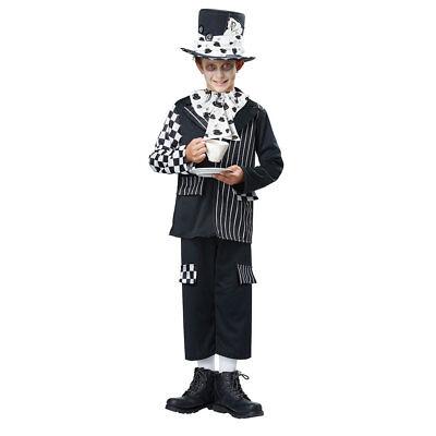 Halloween Dark Costumes (Boys Dark Mad Hatter Halloween)