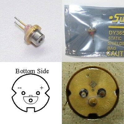 2W / 2000mW 445nm Blue Laser Diode TO-18 5.6mm  M140