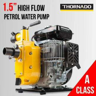 Thornado 1.5 Inch 2.5HP Prospecting Dredging Petrol Water Pump Chipping Norton Liverpool Area Preview