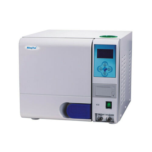 Dental 23L Vacuum Drying Steam Autoclave Sterilizer with Data Printer and Trays