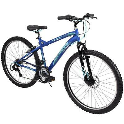 Huffy Mountain Bike Womens 26 Inch Blue 18 Speed Extent NEW