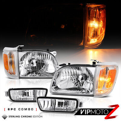 Corner Lamp Assembly (For 01-04 Toyota Tacoma Factory Style Replacement Headlight Corner Lamp Assembly )