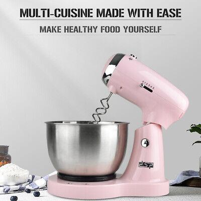 Handrührgerät Edelstahl Rührschüssel Hand Mixer Küchenmaschine