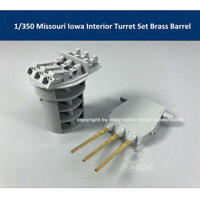 1/350 Missouri Iowa Tamiya 78029 Interior Turret Set Brass Barrel CYG027