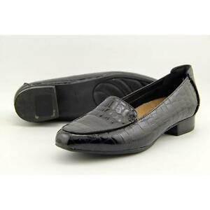a007fc993e1 Women s Clarks Keesha Luca Loafer 9 M Black Croc Patent Leather