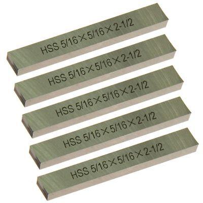 "New Meda HSS 5/% Cobalt Square Ground 3//16/"" x 3//16/"" x 4/"" Tool Bit Shank"