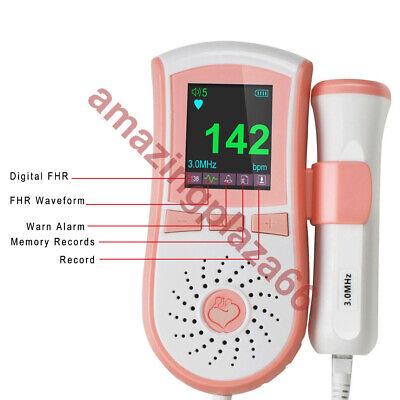 A Seller Fetal Doppler 3mhz Probe Heart Beat Waveform Meter Backlight Gel