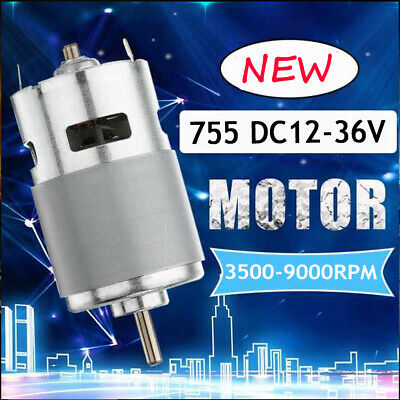 775 Dc 24v 7000rpm Motor Ball Bearing Large Torque Low Noise Cooling Fan P0h2