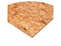 Osb board or ply board sheets