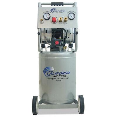 California Air Tools 2hp 10 Gallon Ultra Quiet Oil-free Air Compressor New