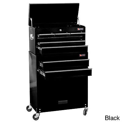Excel 24 Inch 8 Drawer Tool Chest And Roller Cabinet