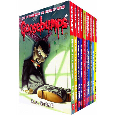 Goosebumps Series 10 Books Collection Set R. L. Stine Stay out of the Basement - Goosebumps Books Stay Out Of The Basement